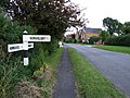 Road sign at Mareham on the Hill - geograph.org.uk - 551132.jpg