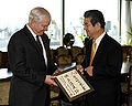 Robert Gates and Toshimi Kitazawa 20091021.jpg