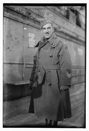 Robert Tyndall - Tyndall in 1919