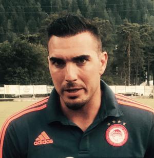 Roberto Jiménez Gago - Roberto with Olympiacos in 2015