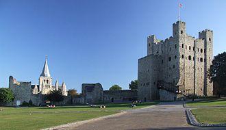 Bertram de Criol - Rochester Castle