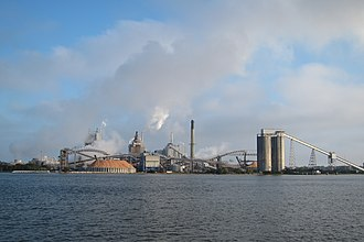 RockTenn - Smurfit-Stone factory acquired by RockTenn in Fernandina Beach
