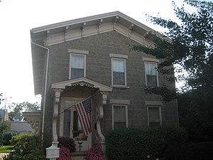 Graham–Ginestra House - Image: Rockford Il Graham Ginestra House 4