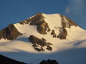 Ostflanke der Rötspitze (Firntrapez)