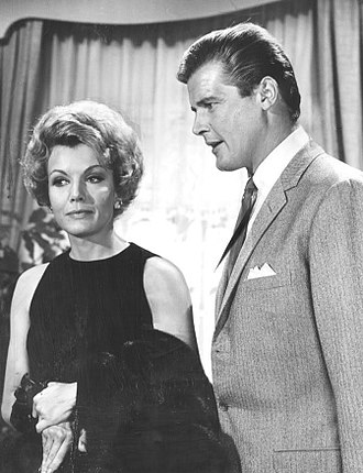 Joanna Barnes - With Roger Moore in The Trials of O'Brien
