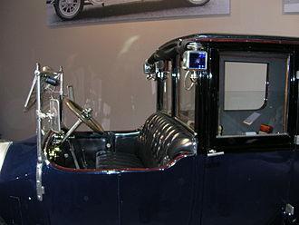 Coupe de Ville - Type I driver's area