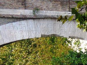 Pons Fabricius - Image: Roma Ponte fabricius 02