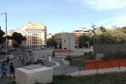 Come arrivare a Sant'Agnese/Annibaliano con i mezzi pubblici - Informazioni sul luogo