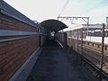 Romford station footbridge look west.JPG