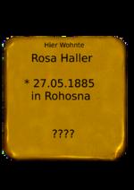 Rosa Haller