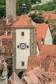 Rothenburg ob der Tauber, Stadtbefestigung, Siebersturm-20140819-001.jpg