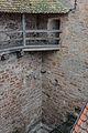Rothenburg ob der Tauber, Stadtbefestigung, Spitalgasse 55, Stadtmauer -20151230-002.jpg