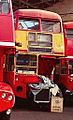 Routemaster bus RM2107 (CUV 107C), Routemaster Heritage Trust open day, Twickenham bus garage, 1993.jpg