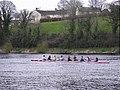 Rowing practice, Enniskillen - geograph.org.uk - 748771.jpg