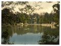 Royal Military College, bathing lake, Sandhurst, Camberley, England-LCCN2002696439.tif