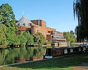 Elisabeth Scott - Royal Shakespeare Theatre, seen from across the river Avon in September 2006