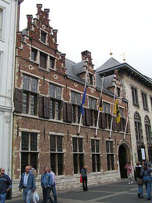 Rubenshuis - The Rubenshuis exterior, as seen from the Wapper.