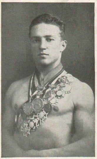 Rudolf Edinger - Rudolf Edinger in 1924