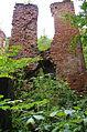Ruiny pałacu resztki prawej wieży.JPG