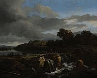 Ruisdael, Jacob van - Landscape with Cascade - Google Art Project.jpg
