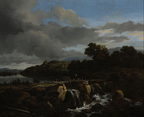 Landscape with Cascade