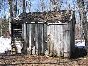 Shack - Image: Rundown Shack