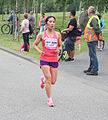 Running sportswoman from Vietnam Ladiesrun 2015.jpg