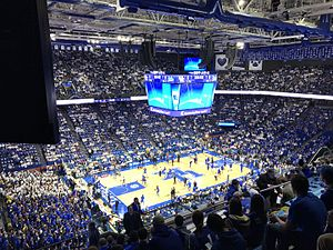 Rupp Arena - New scoreboard becomes the centerpiece of Rupp Arena