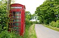 Rural phone box near Portaferry - geograph.org.uk - 837655.jpg