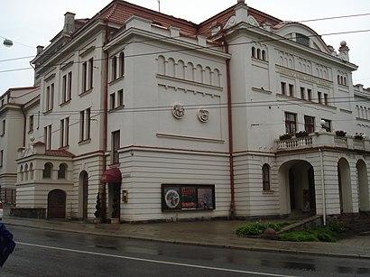 Kaip pateikti į Lietuvos Rusų Dramos Teatras viešuoju transportu - Apie vietovę
