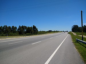 Ruta Interbalnearia - Image: Ruta Interbalnearia cerca de Costa Azul