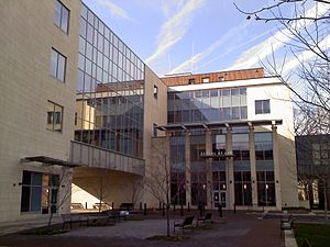 Rutgers University - Rutgers-Camden School of Law entrance.