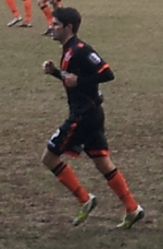 Ryan Flynn playing in an away game for Sheffield United