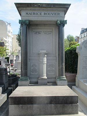 Maurice Rouvier - His grave in Neuilly-sur-Seine.