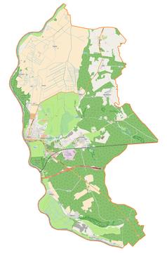 Mapa lokalizacyjna gminy Słubice