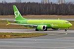 S7 Airlines, VQ-BGV, Boeing 737-8 MAX (46020465781).jpg