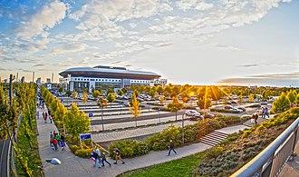 SAP Arena - Image: SAP Arena Panorama