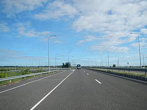 Subic–Clark–Tarlac Expressway - Subic–Clark–Tarlac Expressway near Floridablanca in Pampanga