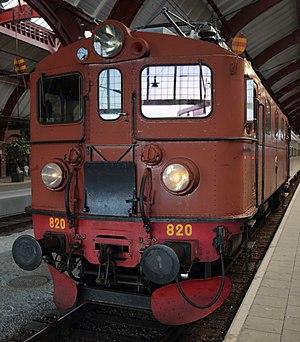 SJ Da - Da heritage train in Malmö