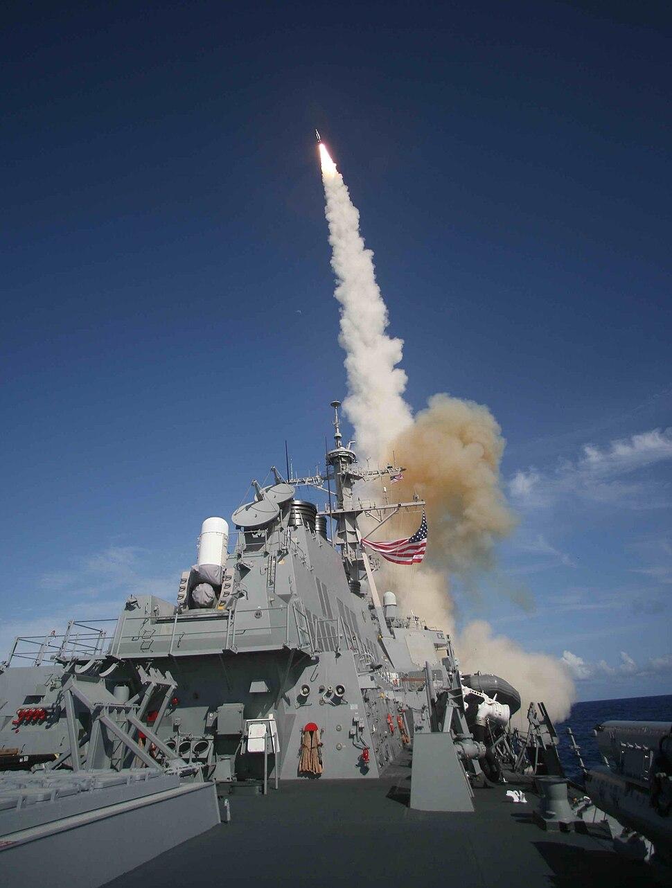 SM-3 launch-USS Decatur