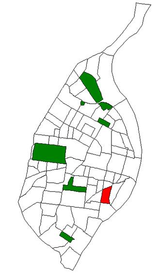 Benton Park, St. Louis - Image: STL Neighborhood Map 22