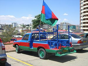 SWAPO - SWAPO election campaign vehicle