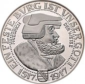 Gedenkmünze Wikipedia