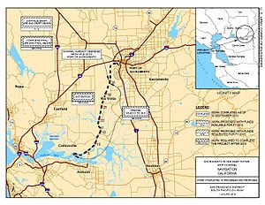 Port of Sacramento - Port of Sacramento Deep Water Ship Channel map