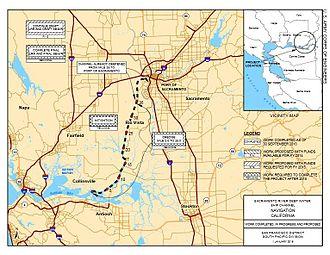 Port of Sacramento - Port of Sacramento Deep Water Ship Channel map