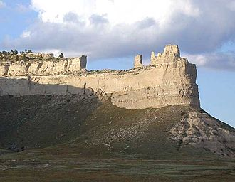 Scotts Bluff National Monument - Image: Saddlerock Scotts Bluff NM Nebraska USA