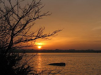 Geography of Hyderabad - Hussain Sagar Lake