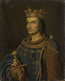 Portrait de Philippe III par Gillot Saint-Èvre, 1837