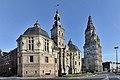 Saint-Amand-les-Eaux (Nord) - Abbaye de Saint-Amand - Anciens pavillons d'entrée - Echevinage - 43357399181.jpg