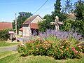Saint-Gervais (95), hameau de Ducourt, calvaire au carrefour au sud du hameau.jpg